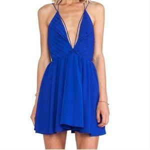 Keepsake The Label Riptide Dress in Cobalt